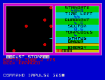 star trek zx spectrum 17