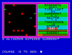star trek zx spectrum 22