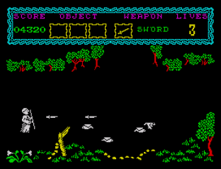 the curse of sherwood zx spectrum 09