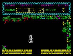the curse of sherwood zx spectrum 12