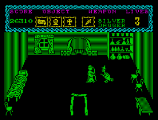 the curse of sherwood zx spectrum 42