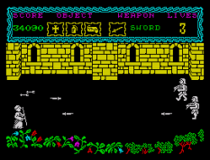 the curse of sherwood zx spectrum 54