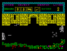 the curse of sherwood zx spectrum 55