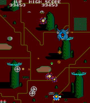 twinbee arcade 33