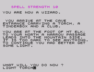 velnor's lair zx spectrum 20