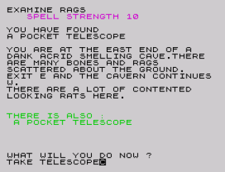 velnor's lair zx spectrum 33
