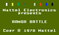 Armor Battle Intellivision 01