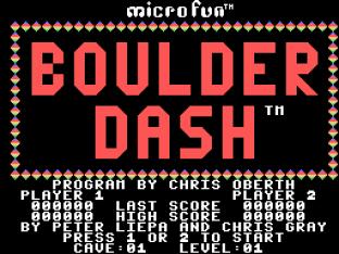 Boulder Dash Colecovision 01
