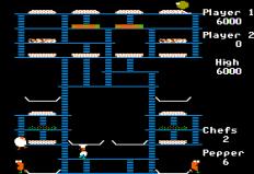 Burger Time Apple II 10