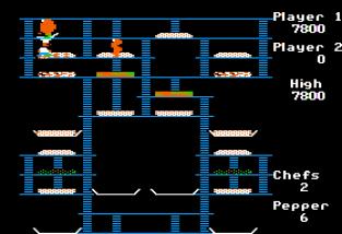 Burger Time Apple II 12