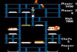 Burger Time Apple II 13