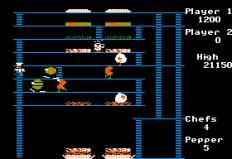 Burger Time Apple II 22