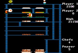 Burger Time Apple II 23