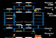 Burger Time Apple II 32