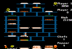 Burger Time Apple II 33