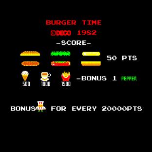 Burger Time Arcade 01
