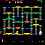 Burger Time Arcade 04