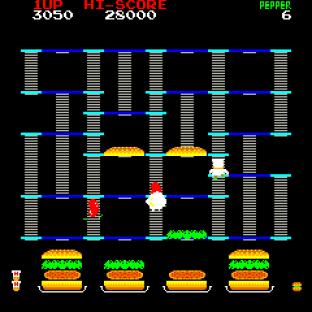 Burger Time Arcade 09