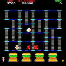 Burger Time Arcade 10