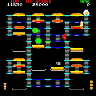 Burger Time Arcade 20
