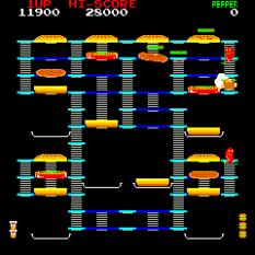 Burger Time Arcade 21