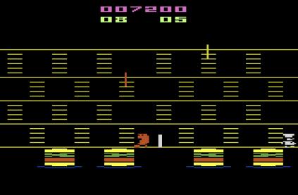Burger Time Atari 2600 09