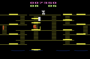 Burger Time Atari 2600 10