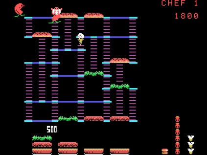 Burger Time ColecoVision 09