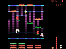 Burger Time ColecoVision 10