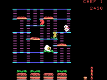 Burger Time ColecoVision 13