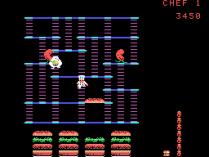 Burger Time ColecoVision 15