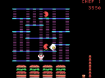 Burger Time ColecoVision 16