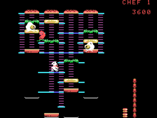 Burger Time ColecoVision 20
