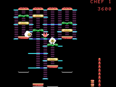 Burger Time ColecoVision 21