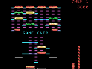 Burger Time ColecoVision 22