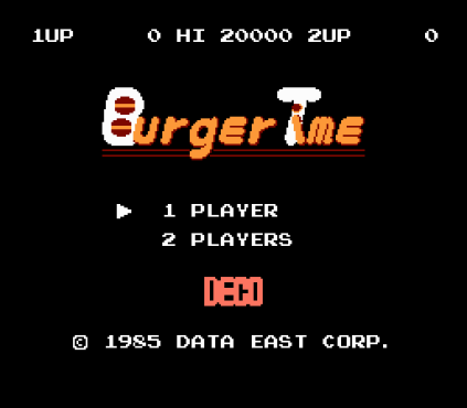 Burger Time FDS 01