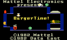 Burger Time Intellivision 01