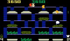Burger Time Intellivision 16