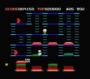 Burger Time MSX 09