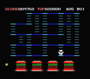 Burger Time MSX 11