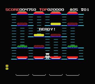 Burger Time MSX 12