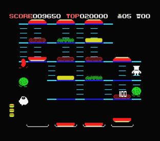 Burger Time MSX 20