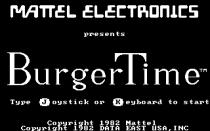 Burger Time PC MS-DOS 01