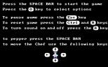 Burger Time PC MS-DOS 02