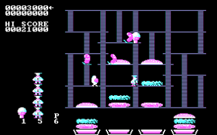 Burger Time PC MS-DOS 04