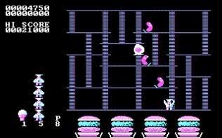 Burger Time PC MS-DOS 05