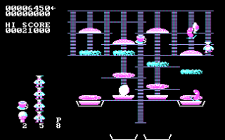Burger Time PC MS-DOS 07