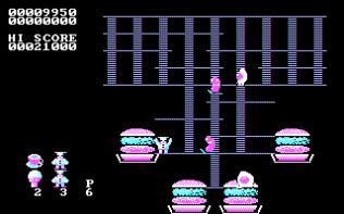 Burger Time PC MS-DOS 09