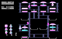 Burger Time PC MS-DOS 10