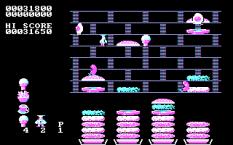 Burger Time PC MS-DOS 16